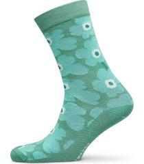 hieta unikko socks lingerie socks regular socks grön marimekko