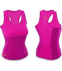 cinta modeladora hot neotex tecido inteligente cintura emagrecimento - rosa - feminino - dafiti