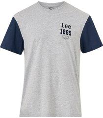 t-shirt colourblock tee