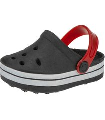 babuche infantil sandália minipasso preto
