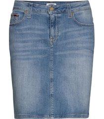 classic denim skirt kort kjol blå tommy jeans