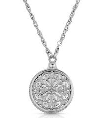 2028 monastery mirror pendant necklace