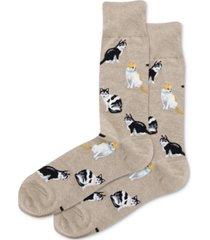 hot sox men's cats classic socks
