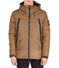 men's outerwear down jacket blouson hood ripstop