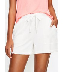 loft lou & grey signaturesoft plush shorts