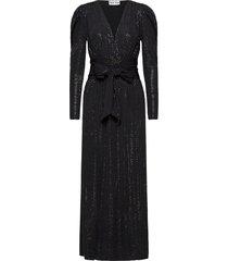 tuesday dress maxiklänning festklänning svart ravn