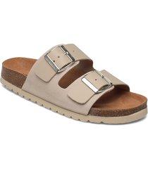 vmcarla leather sandal shoes summer shoes flat sandals rosa vero moda