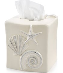 avanti bath, sequin shells tissue cover bedding