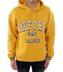 sweater jack & jones 12180810 jorivy sweat hood spicy mustard