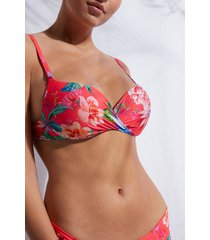 calzedonia graduated push-up swimsuit lisbona woman multicolor size 3