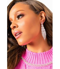 akira how deep is your love rhinestone dangle earring