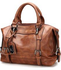 tracolla da donna vintage boston borsa tracolla borsa per le donne