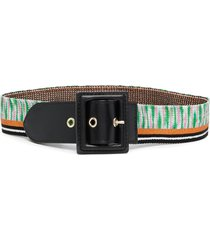 missoni elasticated-knit belt - black
