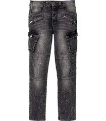 jeans elasticizzati slim fit straight (grigio) - rainbow