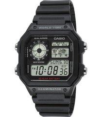 reloj deportivo kcasae 1200wh 1a casio-negro