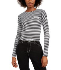 dickies cotton striped top