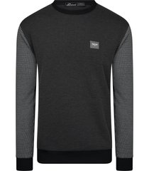 bravo jeans pullover sweater heren - chek bazo