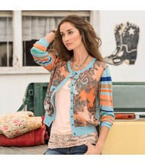 silk route cardigan sweater