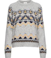 asta sweater stickad tröja grå wood wood