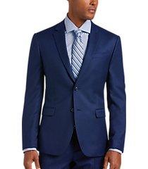 joe joseph abboud bright blue extreme slim fit suit