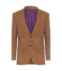 blazer masculina bla live - marrom