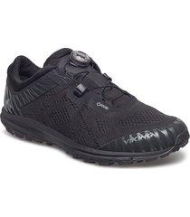 apex ii boa gtx m shoes sport shoes running shoes svart viking