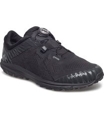 apex ii boa gtx m shoes sport shoes running shoes svart viking