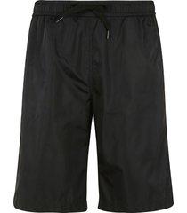 moschino couture! logo print shorts