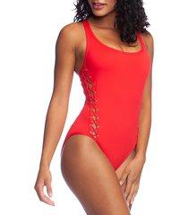 tied & true one-piece swimsuit