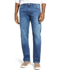 men's mavi jeans zach straight leg jeans, size 36 x 34 - blue