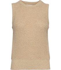 disaiw waistcoat vests knitted vests beige inwear