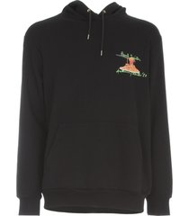 paul smith hooded sweatshirt spaghetti print