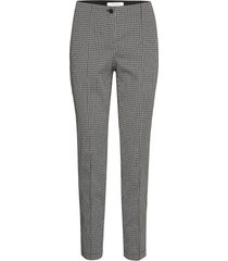 crop leisure trouser byxa med raka ben grå gerry weber edition