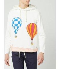 lanvin men's babar balloons print hoodie - white - s