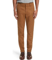 men's carhartt work in progress sid chino pants, size 28 x 32 - brown