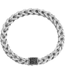 'asli classic chain' sapphire silver bracelet