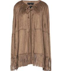 unreal fur capes & ponchos