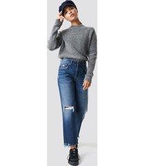 cheap monday revive blue oxide jeans - blue