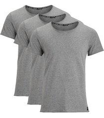 t-shirt korte mouw björn borg centre relaxed 3-pack tee