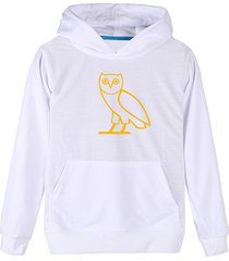 men's hoodies, hooded , spring gold  owl streetwear