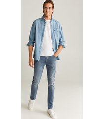 patrick kaki slim-fit jeans