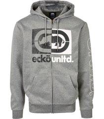 ecko unltd men's vice versa full zip hoodie