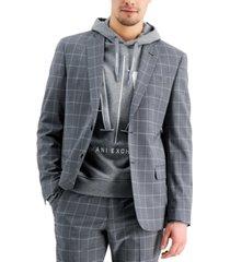 ax armani exchange men's slim-fit suit jacket