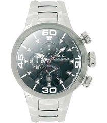 relógio de pulso chronotech active crystal - aço