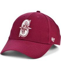 '47 brand seattle mariners cardinal mvp cap