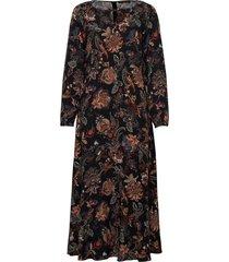 dress long1/1 sleeve maxiklänning festklänning svart betty barclay