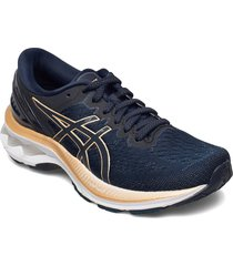 gel-kayano 27 shoes sport shoes running shoes blå asics