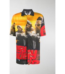 marcelo burlon county of milan easy rider print shirt