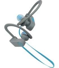 audífonos klip xtreme deportivos khs-632bl gris-azul