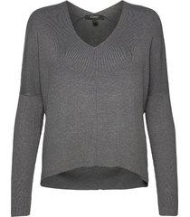 sweaters stickad tröja grå esprit collection
